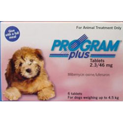 Plus For Dogs 1 - 10 Lbs (Pink)