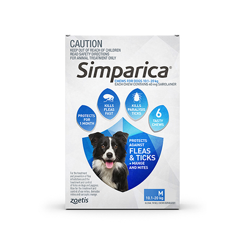 40MG for Medium Dogs 10.1-20KG (BLUE)