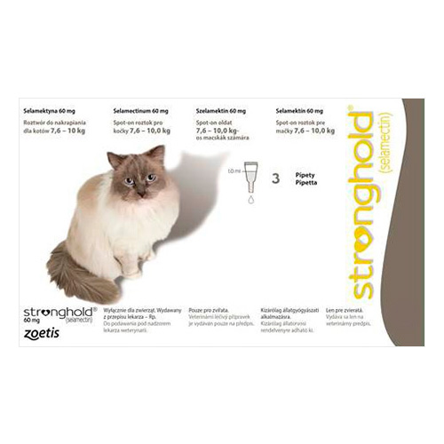 Large Cats 7.5 Kg -10 Kg 60 mg (Grey)