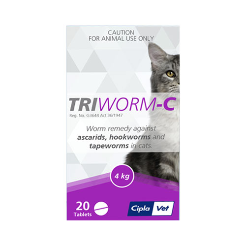 Triworm-C Tablets