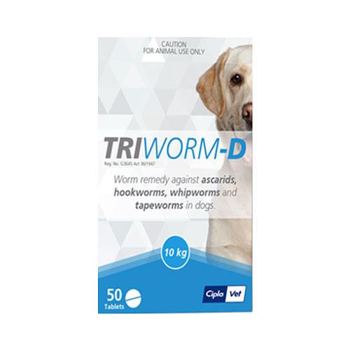 Triworm-D Tablets