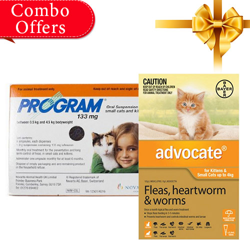 Advocate & Program Oral Suspension Combo Pack