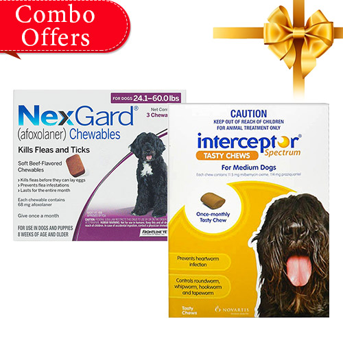 Nexgard & Interceptor Combo Pack