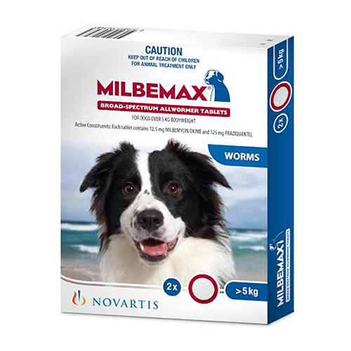 Allwormer Tablets For Large Dogs 5 To 25 Kg