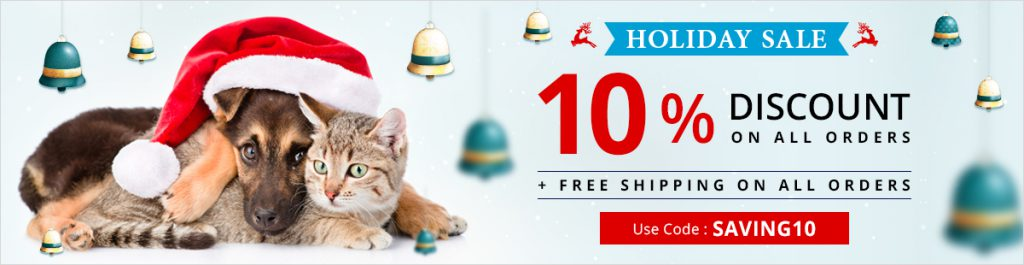 Chritmas Discount On Pet Care Products