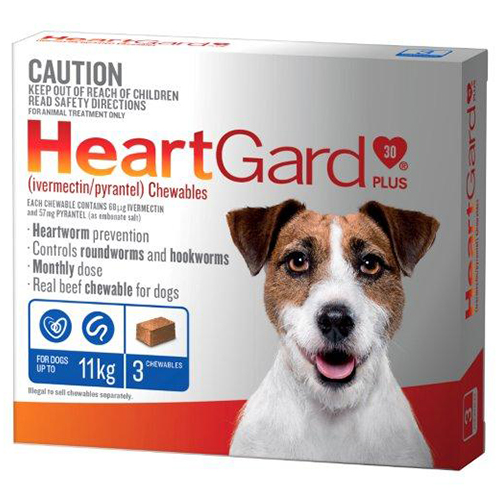 Heartgard Plus Chewables for Dogs
