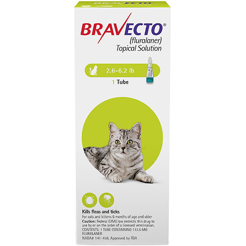 Bravecto Spot-On for Cats