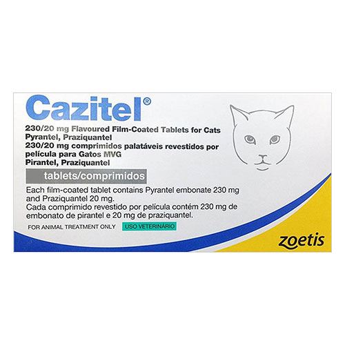 Cazitel Flavored Tablets for Cats