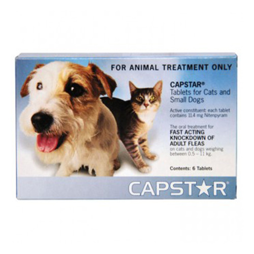Is Capstar Safe For Small Dogs