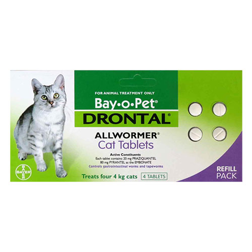 Drontal Wormers for Cats