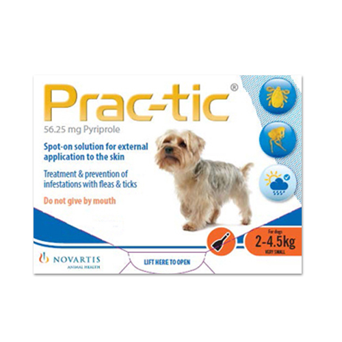Prac-Tic Spot-On for Dogs