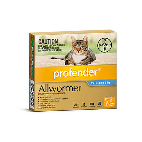 Profender Allwormer for Cats