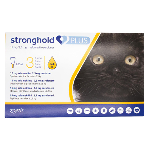 Stronghold Plus for Cats