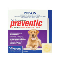 Preventic Tick Control Collar